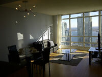 SPECIAL!! Furnished 1 Bedroom + Guest Room / Den (CN Tower View)