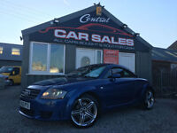 AUDI TT 3.2 V6 QUATTRO DSG 4X4 ( 250ps ) FINANCE & PARTX WELCOME
