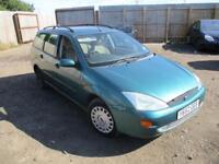 2001 Ford Focus Estate 1.8i 16v Ghia Petrol Manual 5 Door Green Cheap