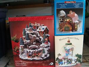 Mini Christmas Village Collection figurines