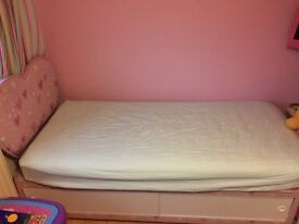 Girls single divan bed