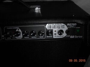 Randall Amplifer RG75D/G2 75W (Excellent Condition) Chwk