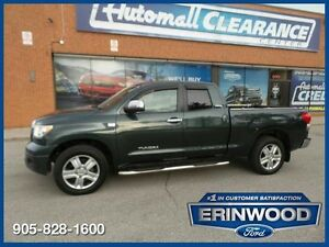 "2007 Toyota Tundra Limited4WD Double Cab / LTHR / 20"" WHLS"