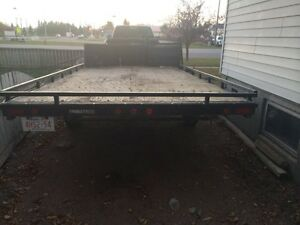 2006 trailtek 16' drive on/off trailer.