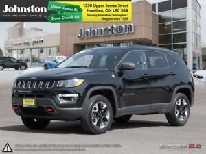 2017 Jeep Compass Trailhawk  - Leather Seats -  Bluetooth - $104