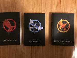 The hunger games book collection in mint condition