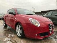 2013 54 ALFA ROMEO MITO 1.2 JTDM-2 DISTINCTIVE 3D 85 DIESEL- RED+2 KEYS+2 OWNERS