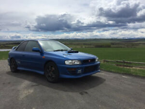 Beautiful 1998 JDM Subaru WRX STI Type R 92 000km