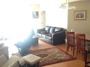 Subletting Furnished 2 Bedroom Apartment for July and August