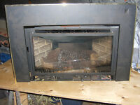 propane fire place insert with chimney liner