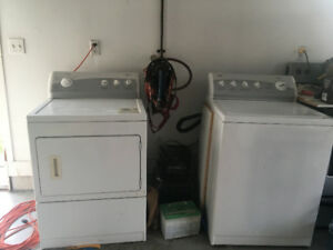 Kenmore Dryer and Washer