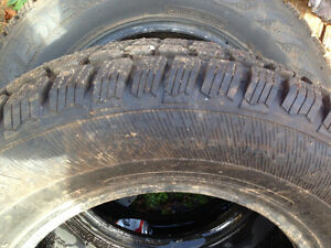 2 winter tires like new