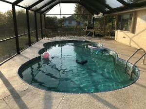 Port Charlotte,pool,heater,lanai,boat dock,waterfront