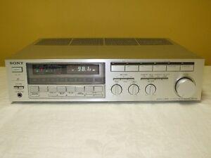 Sony STR-VX6 Legato Linear AM/FM Stereo Receiver TOTL Vintage