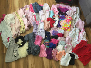 Baby clothes mix lot 3-12months