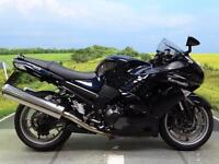 Kawasaki ZZR1400 **Dark blue metallic Paintwork**