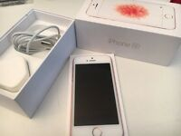 Apple iPhone SE O2/Tesco/giffgaff boxed with warranty