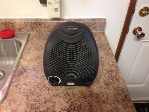 Small heater fan