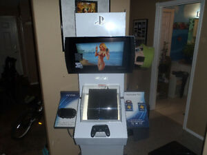 complete ps4 kiosk!!!!!