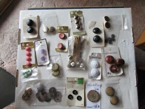 VINTAGE BUTTONS - multiple styles - CLEARANCE!!!!