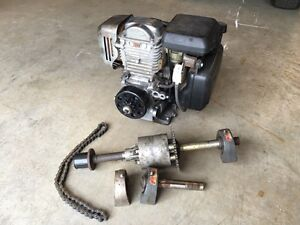 Honda GC160 with clutch and differential for go kart or other