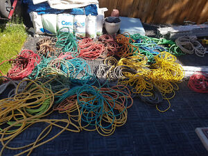 Air Hoses, power cords, cables, rope and harnesses