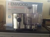 Kenwood food processor as new 600w