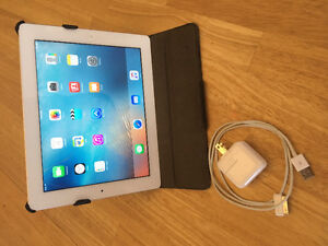 iPad 3rd generation, 10/10 condition with case!