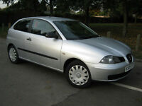2005 05 REG Seat Ibiza 1.4 16v Reference (LOW MILEAGE)