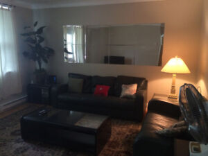Clean 3 bedroom apartment near metro,HEC,UdeM