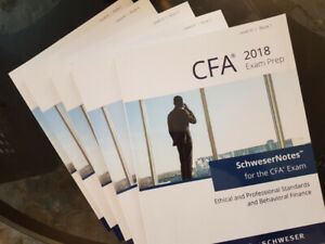 CFA Level 3 Schweser Books and Practice Exams - Never Used!