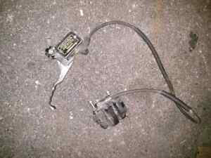 Caliper with hoses and everything as shown Kitchener / Waterloo Kitchener Area image 1