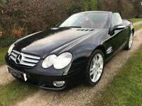 2007 MERCEDES SL350 3.5 7G-TRONIC CONVERTIBLE PANORAMIC ROOF SAT NAV LOW MILES