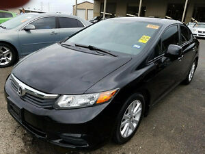 2012 HONDA CIVIC EXL, AUTO, LEATHER, NAVIGATION, / CERTIFIED