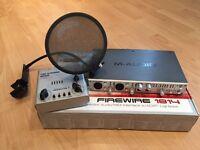 M-Audio FireWire 1814 sound card bundle