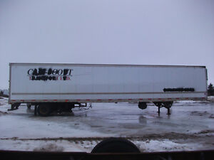 53 Ft Storage Trailer As Is, #53RT