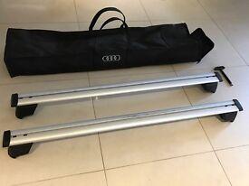 Genuine Audi Q5 luggage roof rack cross bars 8R0071151G