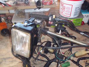 1987 Honda Fourtrax 250 electrical parts