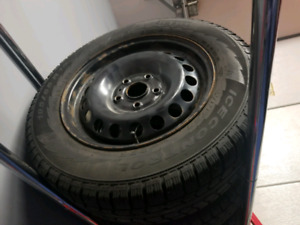 195 65 15 vw rim and winter tires