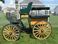 Voiture cheval 4 roues
