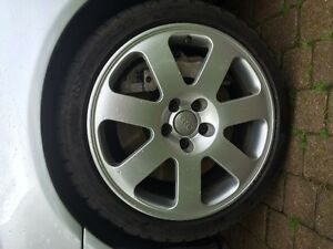 Audi & VW  rims with tires