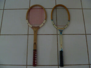 Selling 2 Vintage Tennis Racquets