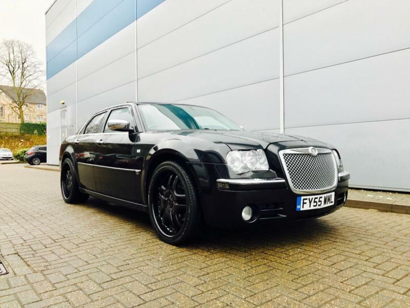 2005 55 Reg Chrysler 300c 5 7 V8 Hemi Auto Black