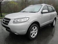 06/06 HYUNDAI SANTA FE 2.2 CRTD CDX 7 SEAT IN MET SILVER WITH SERVICE HISTORY