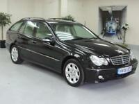 2006 MERCEDES C-CLASS C220 CDI ELEGANCE SE + CREAM LEATHER + IMMACULATE + ESTAT