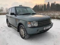 2004 04 LAND ROVER RANGE ROVER 3.0 TD6 AUTO VOGUE LOW 84K LADY OWNED PX SWAPS