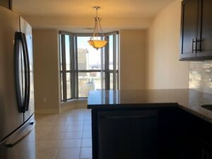 Spacious condo on Main and Bay, two bedrooms,2 bathrooms