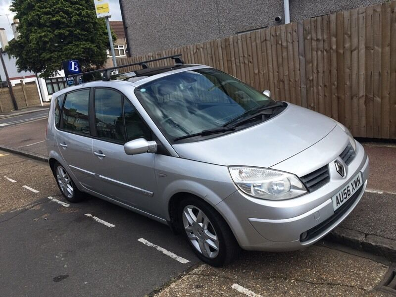renault scenic 2006 leather seats roof rack full history in chadwell heath london gumtree. Black Bedroom Furniture Sets. Home Design Ideas