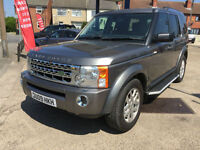 2009 Land Rover Discovery 3 2.7TD XS 103,000 miles, leather, sat nav, HPI CLEAR