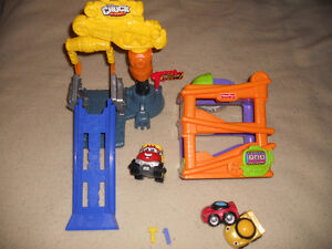Fisher Price and Tonka Chuck (T-1) Edmonton Edmonton Area image 1